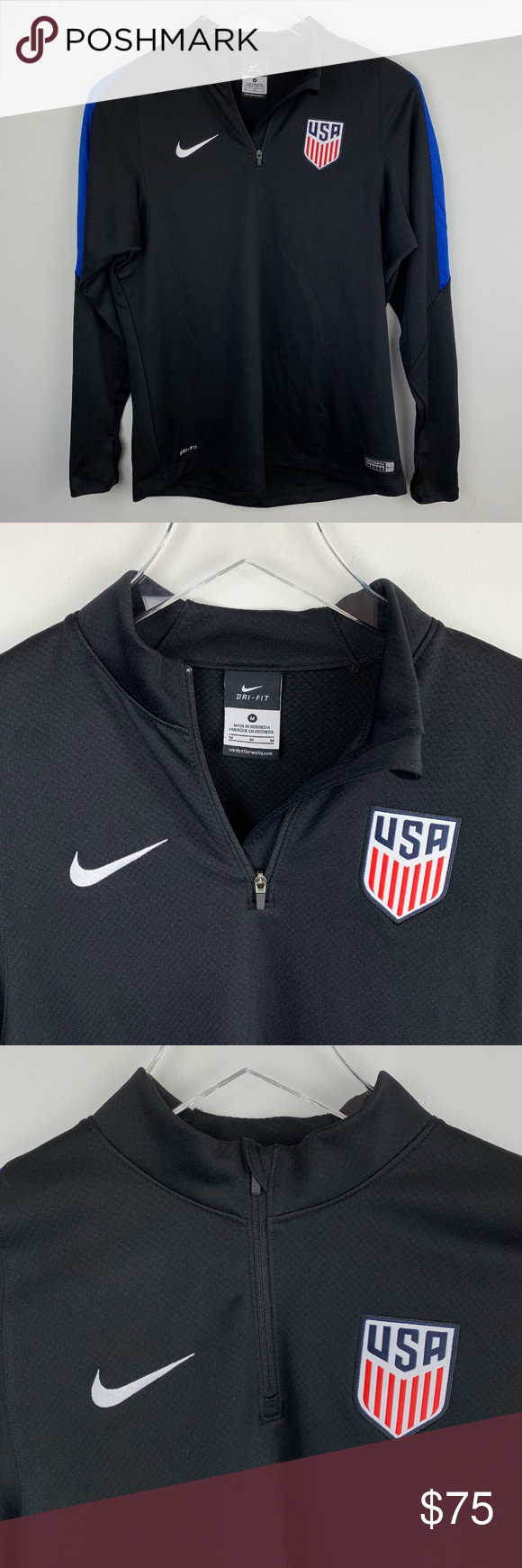 3a767ab8b6d9 NIKE — RARE Dri-FIT USWNT Soccer Zip Track Jacket NEW WITHOUT TAGS VERY RARE
