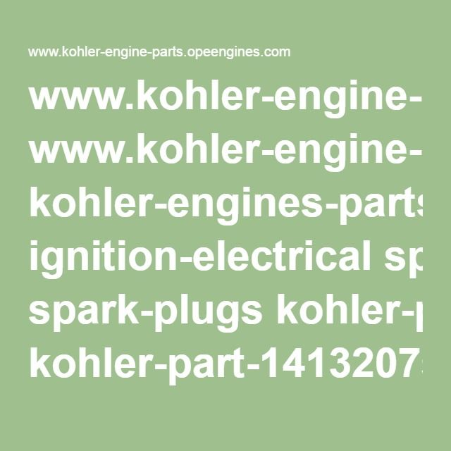 wwwkohler-engine-partsopeengines kohler-engines-parts ignition - food inventory template