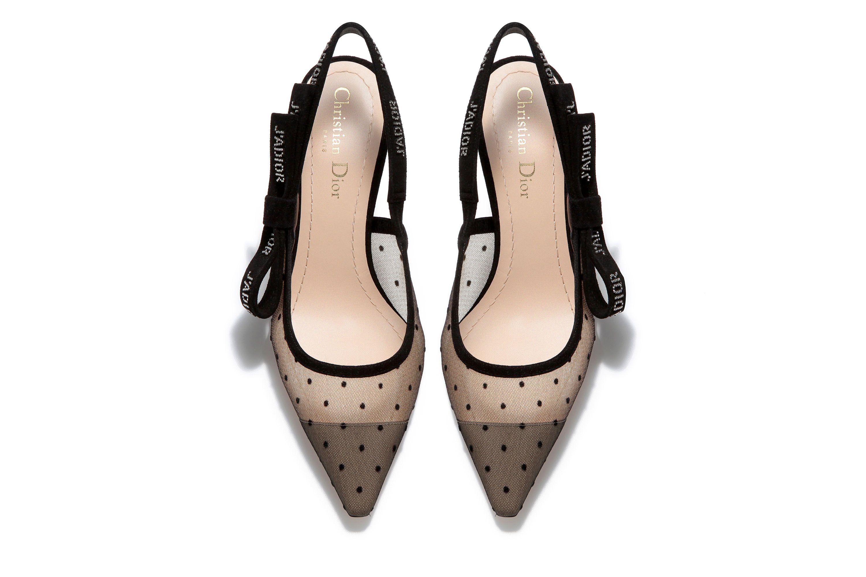 121f3a39c0d019 Escarpin J'Adior en plumetis et strass | shoes | Escarpins, Plumetis ...