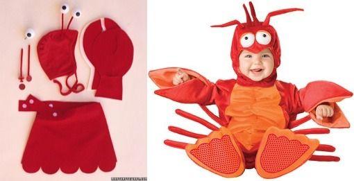Diy Baby Lobster Costume
