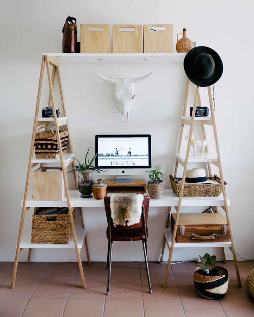 15 ides diy pour le bureau dco maisonides - Idee Amenagement Bureau Maison
