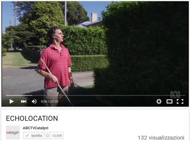 Ecolocazione umana / Echolocation