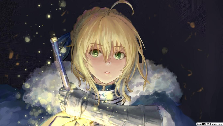 Pin Di Artoria Pendragon Hd Wallpaper Download wallpaper anime pedang