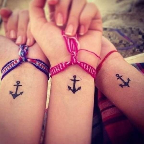 Cuál Es El Significado De Los Tatuajes De Anclas Tatuajes De Amistad Patrones De Tatuajes Tatuajes Para Niñas