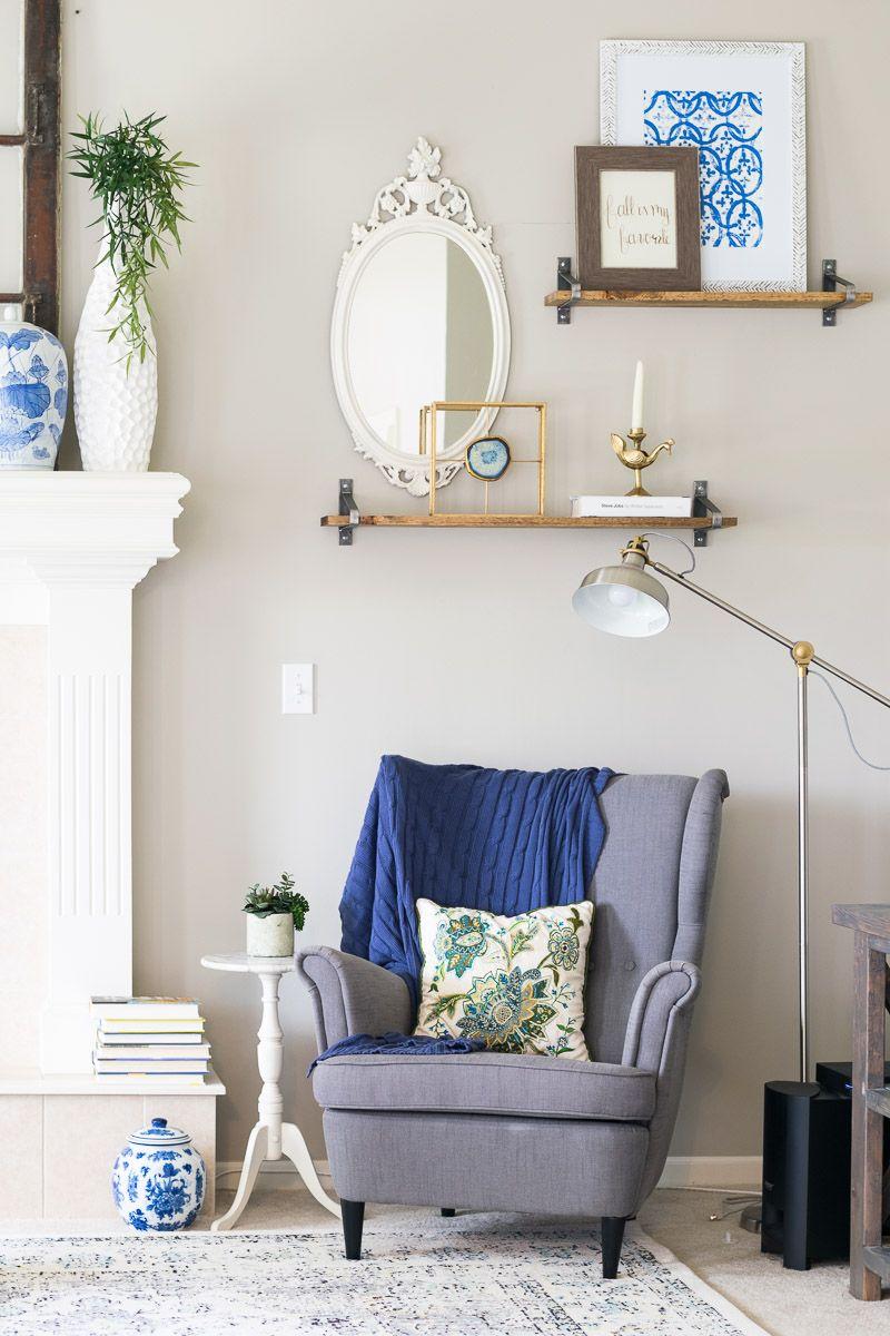 October Living Room Update