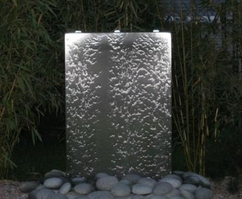 gartenbrunnen wasserwand shape wasserwand au en haus pinterest wasserwand gartenbrunnen. Black Bedroom Furniture Sets. Home Design Ideas