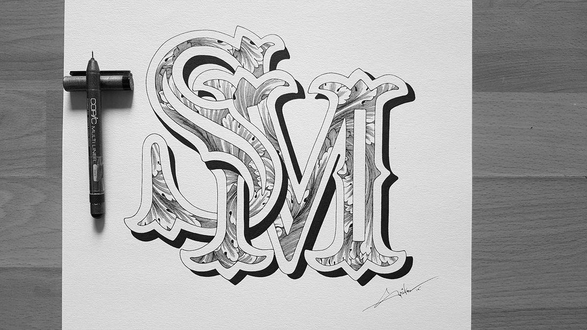Letter s m stylish wallpapers backgrounds