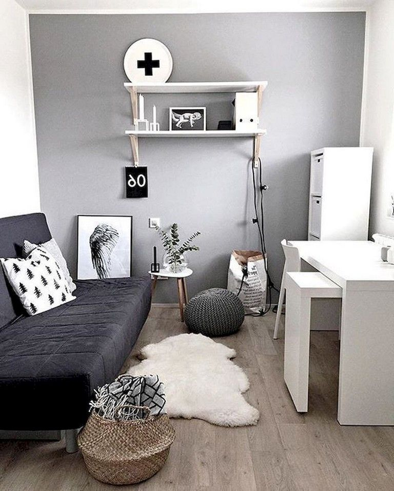 55+ Awesome And Subtle Home Office Scandinavian Design