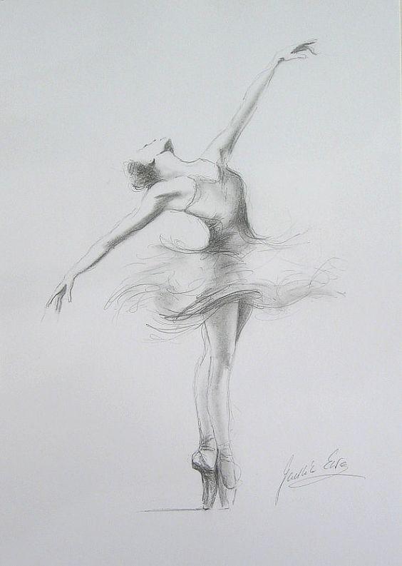 ❤️ballet pencil drawings