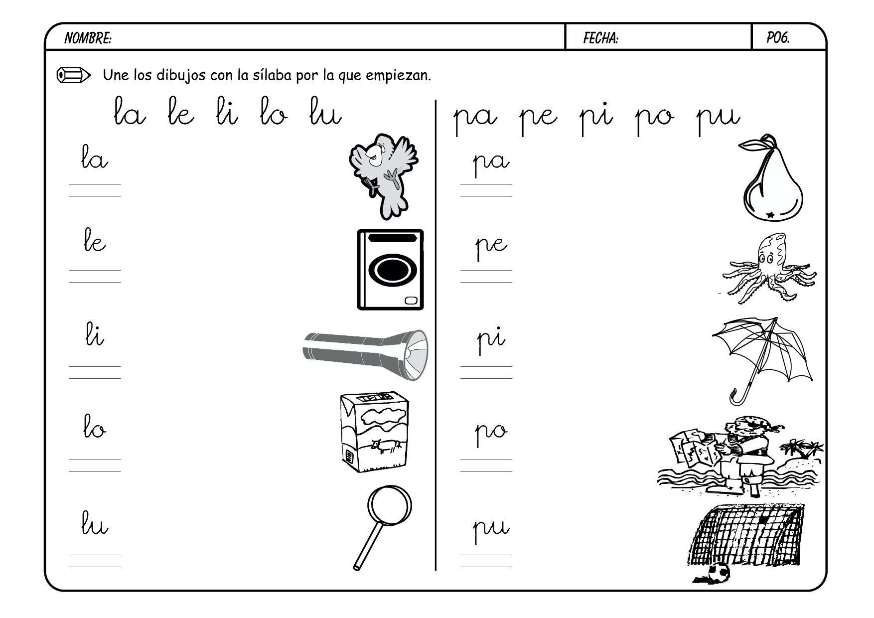 Dletra P Page06 Jpg 1754 1240 Actividades De Letras La Letra P Lectoescritura