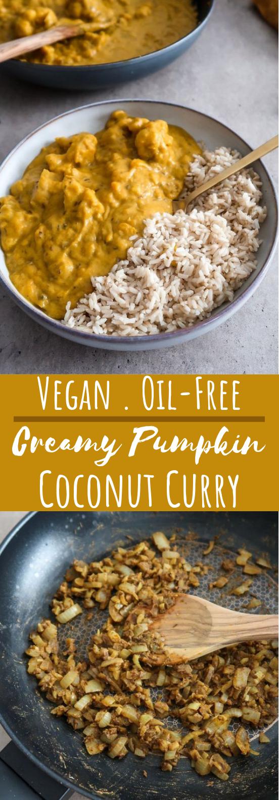 Pumpkin Coconut Curry #vegetarian #vegan #insurancequotes