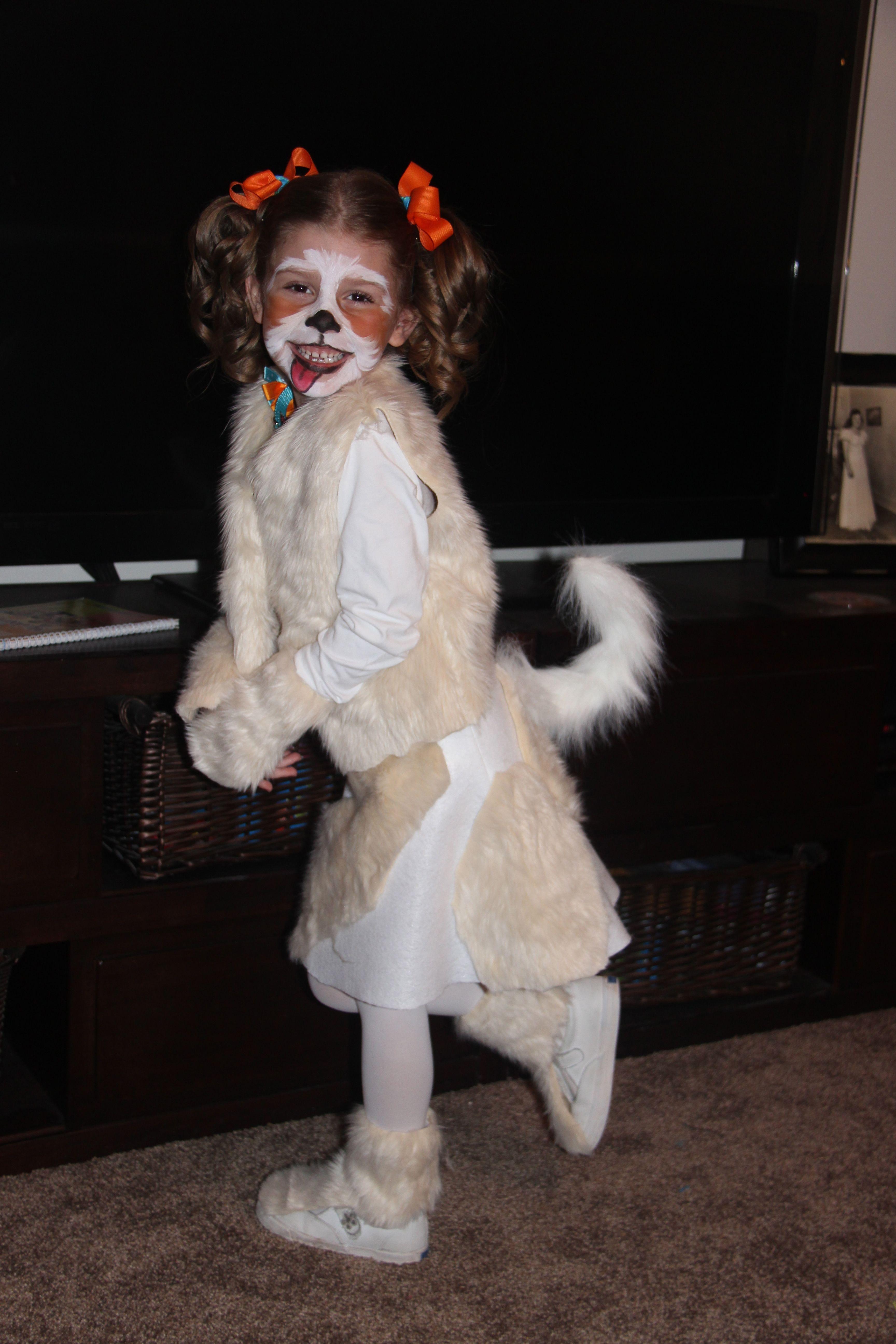 Puppy Dog Doggie Face Paint Costume Child Halloween Pinterest