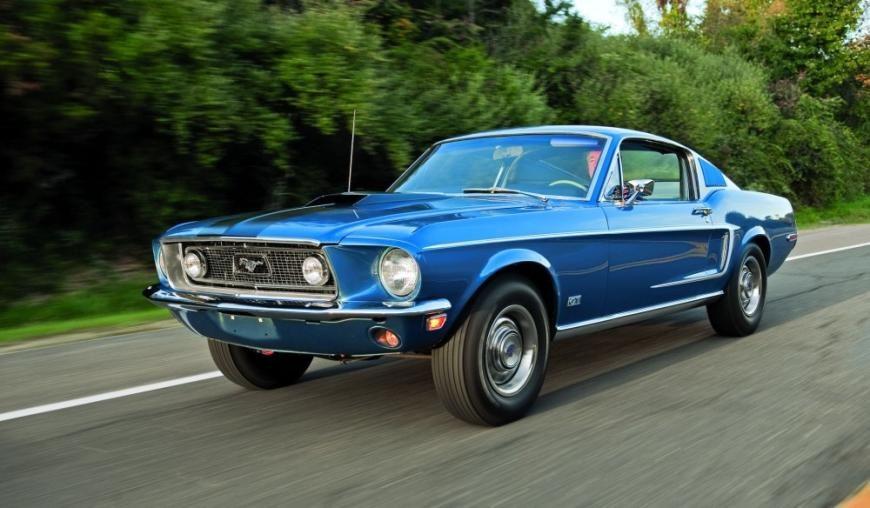 1968 Ford Mustang GT Cobra Jet