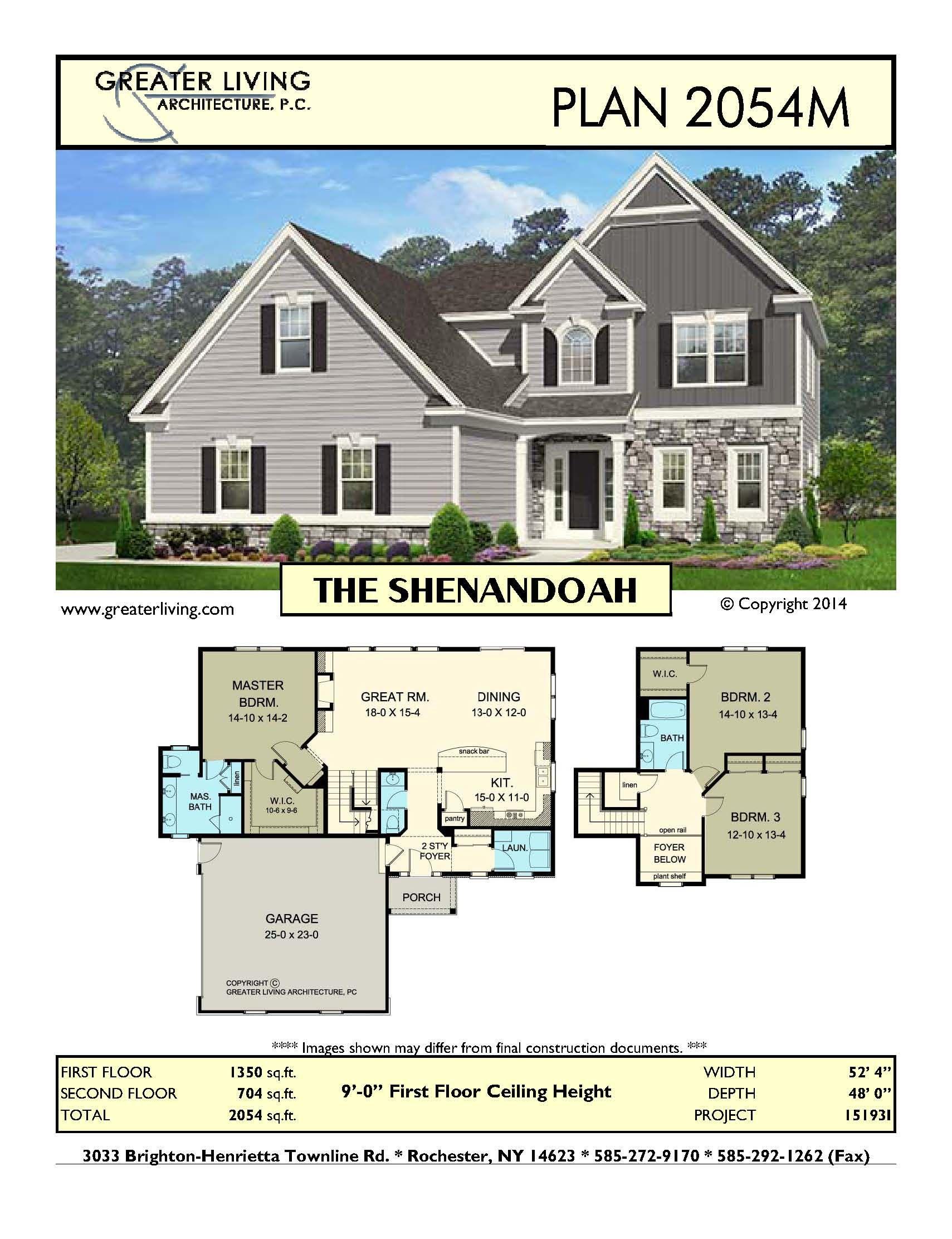 Plan 2054m The Shenandoah House Plans Two Story House Plans 1st Floor Master Greate House Plans Residential Architecture Residential Architecture Plan