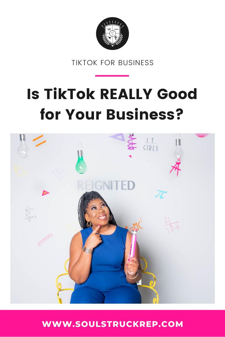 Is Tiktok Really Good For Business Marketing Strategy Social Media Marketing Trends Digital Marketing Strategy