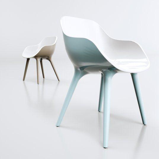 Sedie design o comodità? #Design, #Ecopelle, #Ergonomica, #Pelle ...