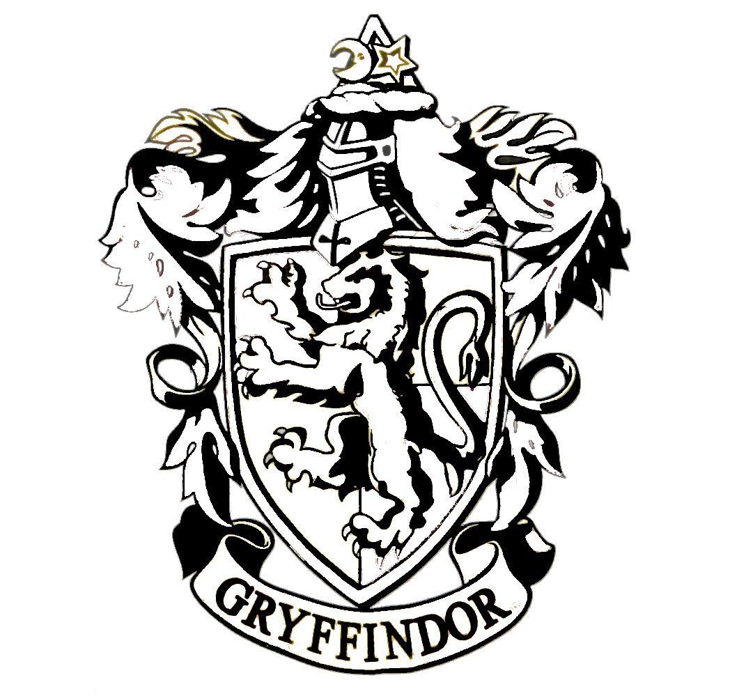 gryffindorcrestlogohr.jpg (1071×999) Gryffindor crest