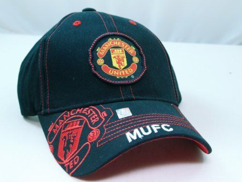 28820f75fcd FC MANCHESTER UNITED OFFICIAL TEAM LOGO CAP   HAT - MU005 by Tripact Inc.   13.98. Find this Pin and more on Sports   Outdoors - Caps ...