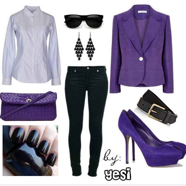 Purple outfits option 42. #purple #outfits #purpleoutfits #handbags #accessories #shoes #clothes #casual #workoutfits