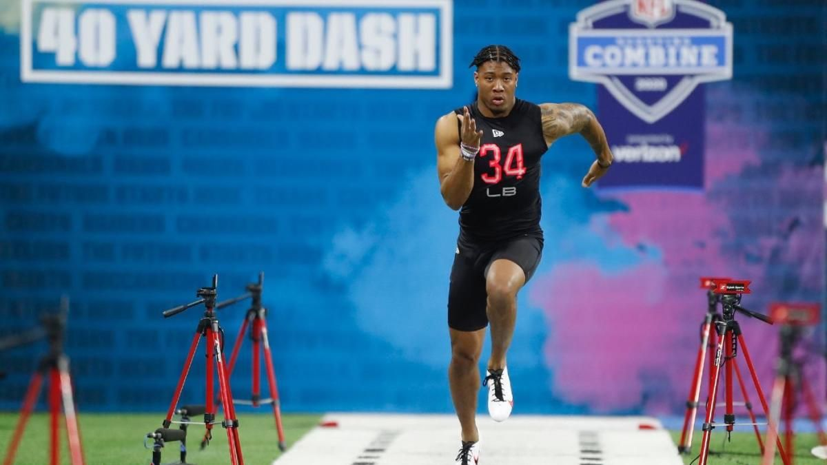 2020 Nfl Combine Results Isaiah Simmons Crushes 40 Yard Dash And More Times Workouts For Dls And Lbs In 2020 News Nachrichten Nachrichten