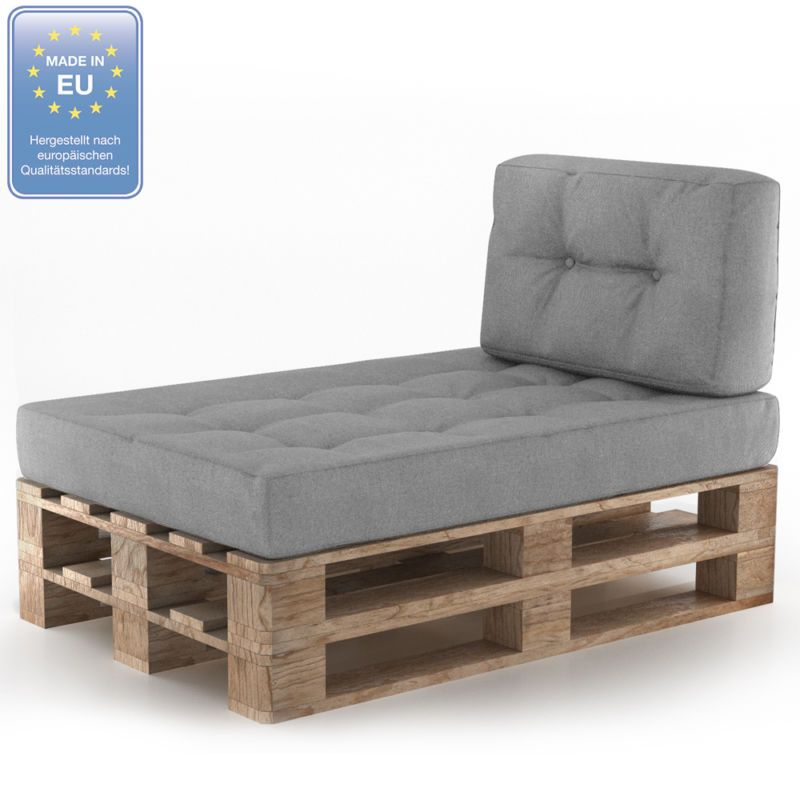 Sofa Polstern details zu palettenkissen kaltschaum kissen palettensofa