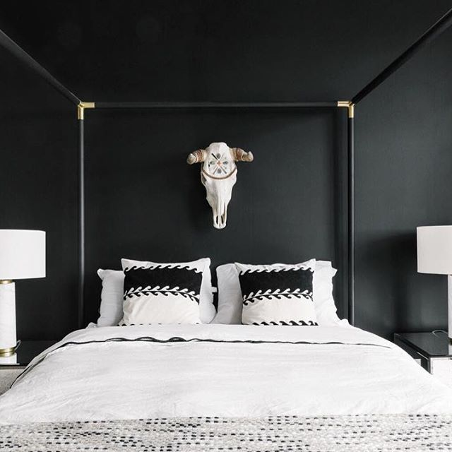 see inside one san francisco apartment that features a black white pink and metallic color scheme discover modern home decor ideas with a black and - Metallic Canopy Decorating