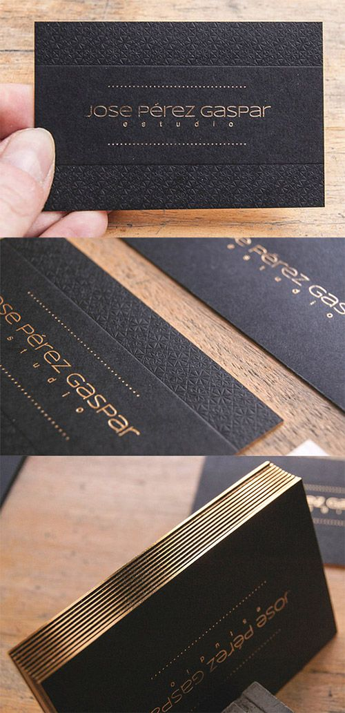 A collection of elegant business cards with gold designs pinterest textured business card gold graphicdesign reheart Image collections