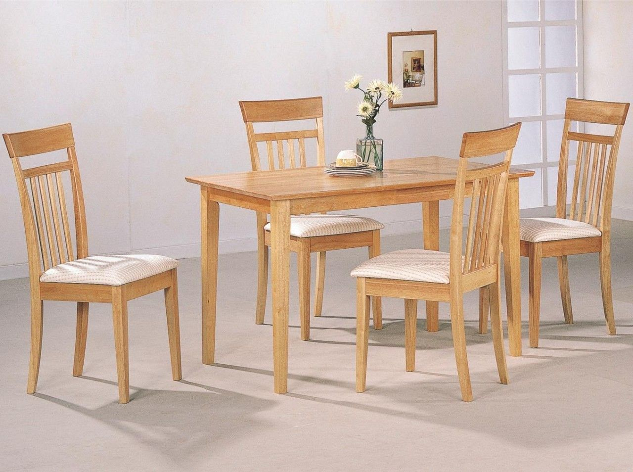 Gothic Cabinet Craft - Alpha, 5 Piece Dining Set NATURAL, $409.00 (http://www.gothiccabinetcraft.com/copy-of-alpha-5-piece-dining-set-natural/)
