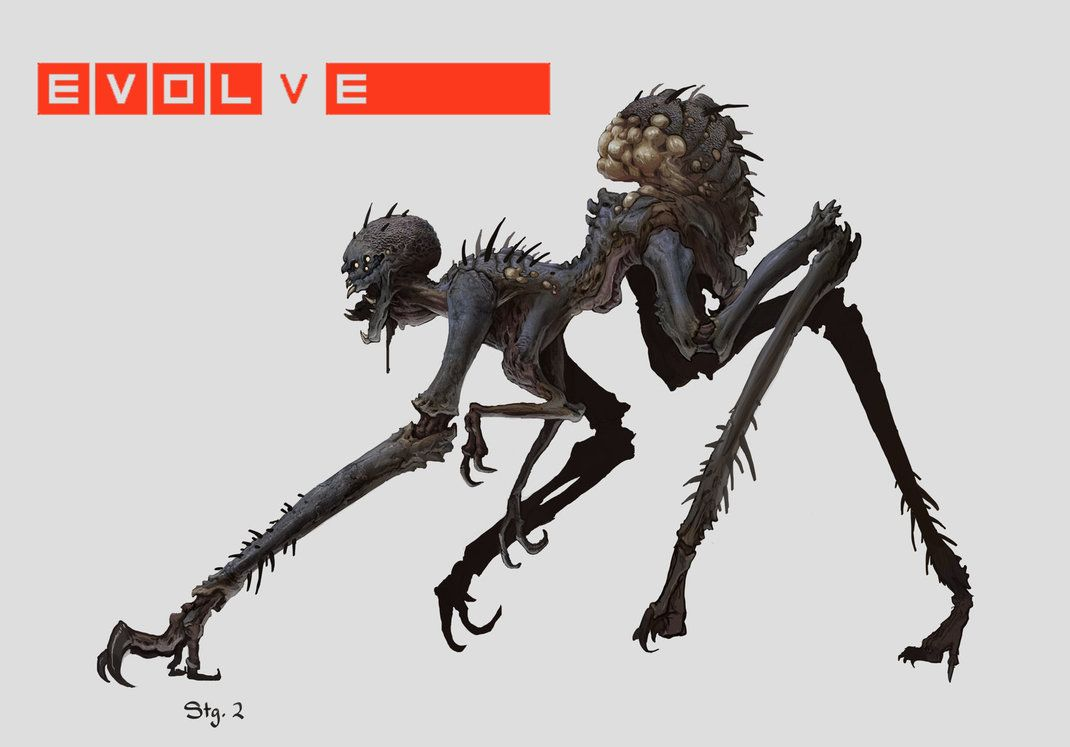 "Concept art for Gorgon, ""Whip Spider"" - General - Turtle Rock 