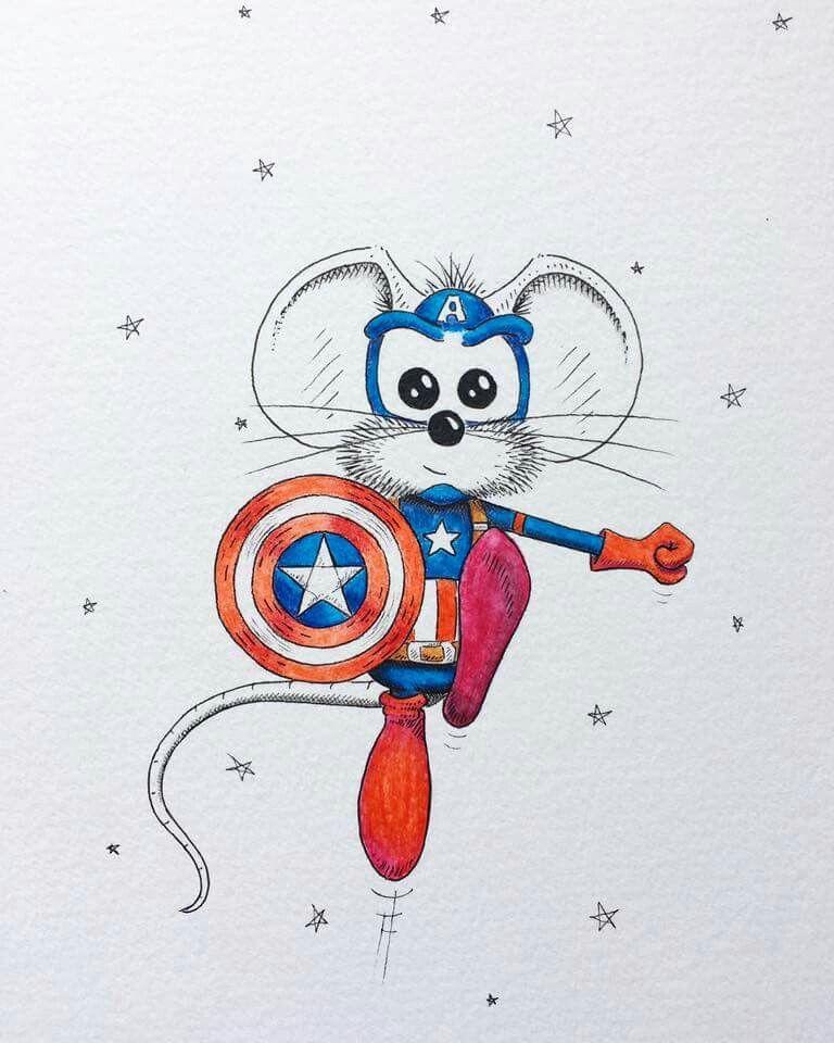Pin de Maribel en Mi raton | Pinterest | Animales y Dibujo