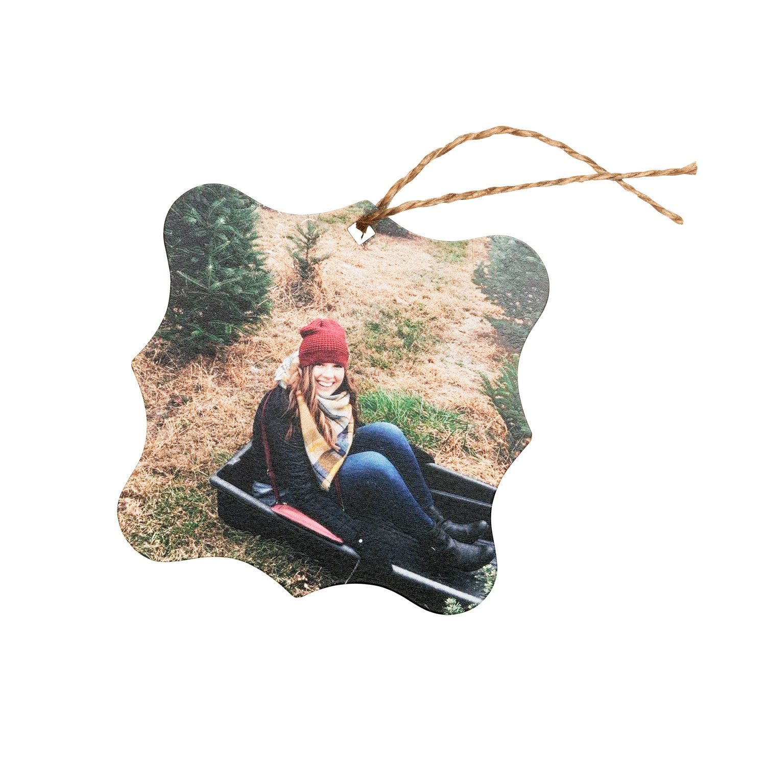 Picture Perfect Ornament By Thirty One Gifts Scalloped Iron Thirty One Gifts Photo Christmas Tree Canvas Gift Bag