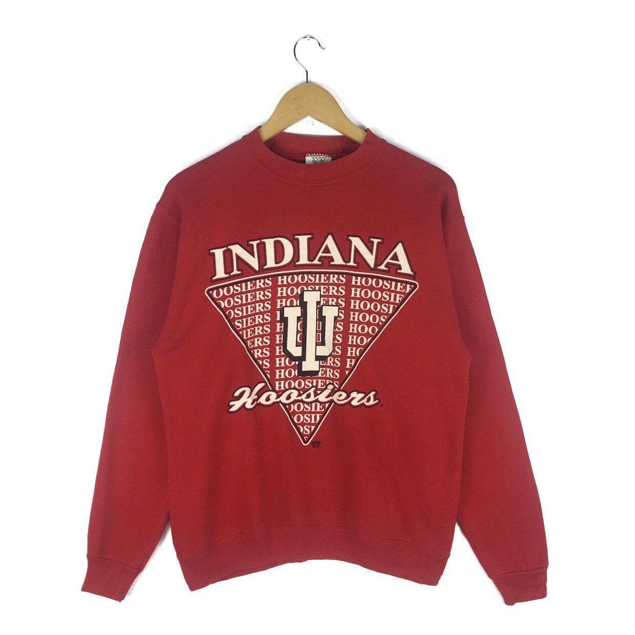 Vintage 90s Indiana University Hoosiers Sweatshirt Crewneck Etsy Vintage College Sweatshirts Sweatshirts Vintage Crewneck Sweatshirt [ 1242 x 1242 Pixel ]