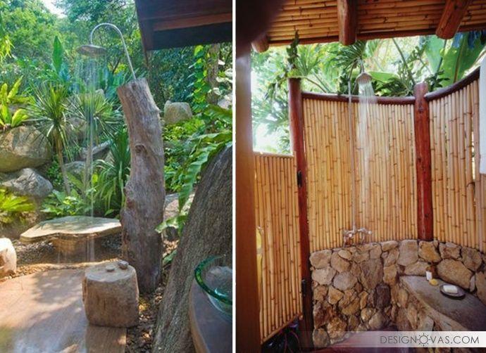 37+ Beautiful Outdoor Shower Ideas | +100. Shower PoleShower DesignsModern  Bathroom ...