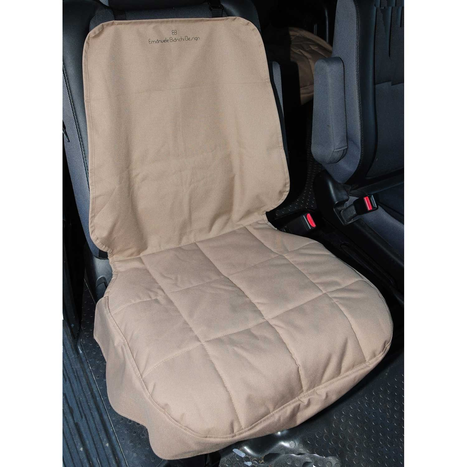 Pet Ego Front Car Seat Protector in Tan | Car seat protector, Seat