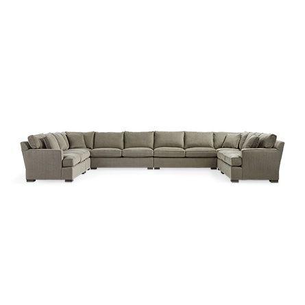 Sensational Dune Upholstered Eight Piece Sectional In Driscoll Marble Customarchery Wood Chair Design Ideas Customarcherynet