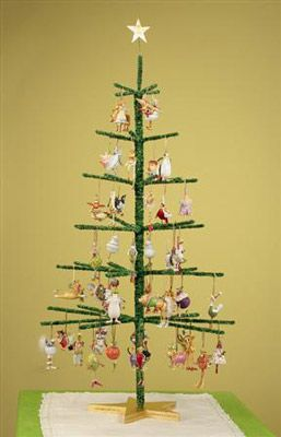 Make this to display ornaments at the craft show!
