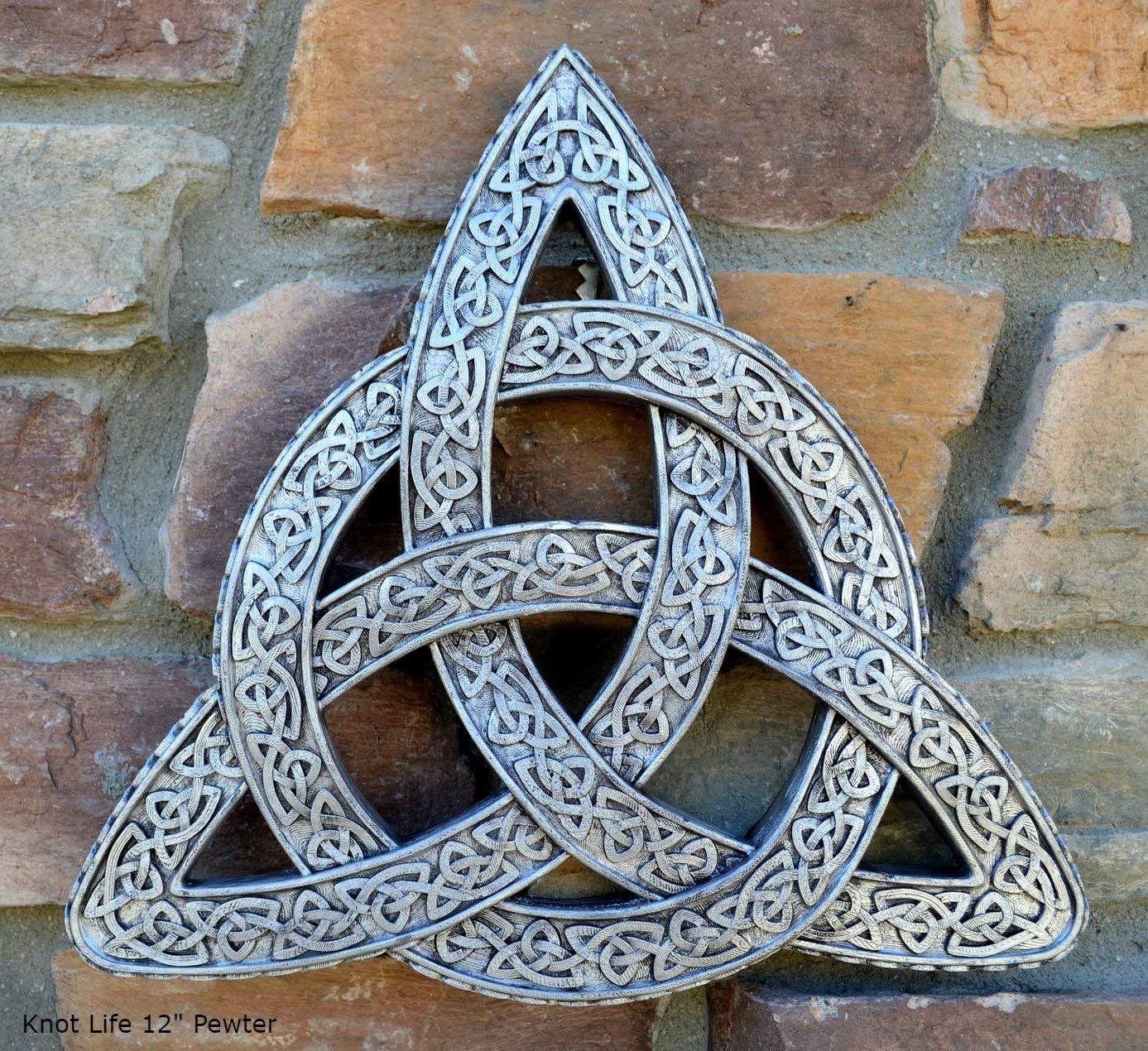 Amazonsmile celtic decor trinity knot life wall plaque sculpture