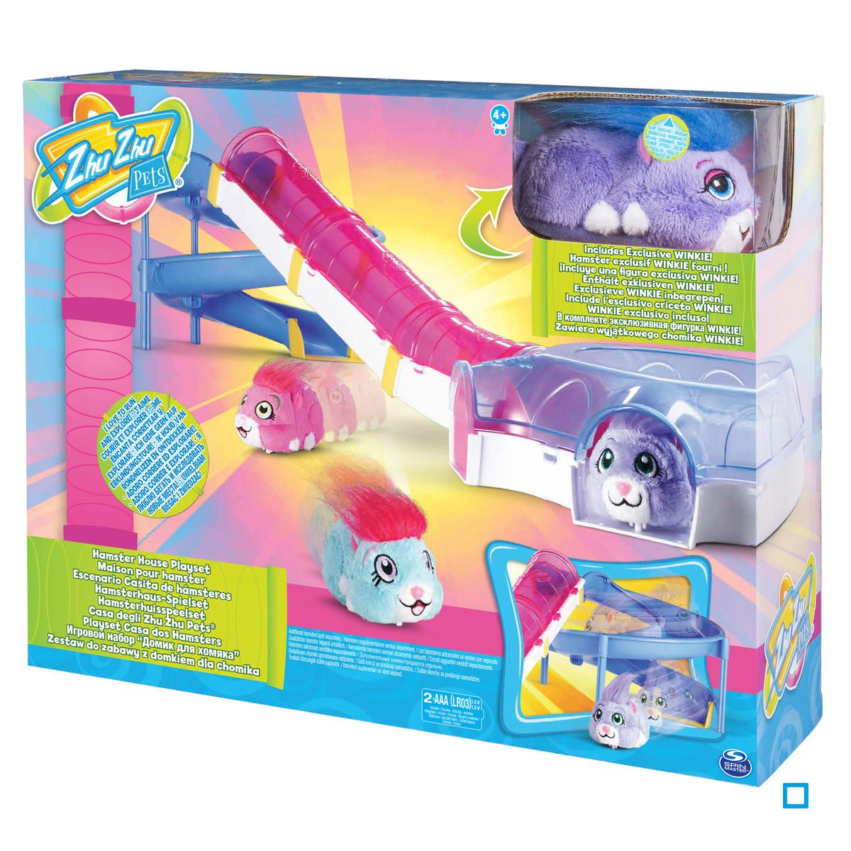 Hamster Carrier with Handle and Door Assorted Color Fits