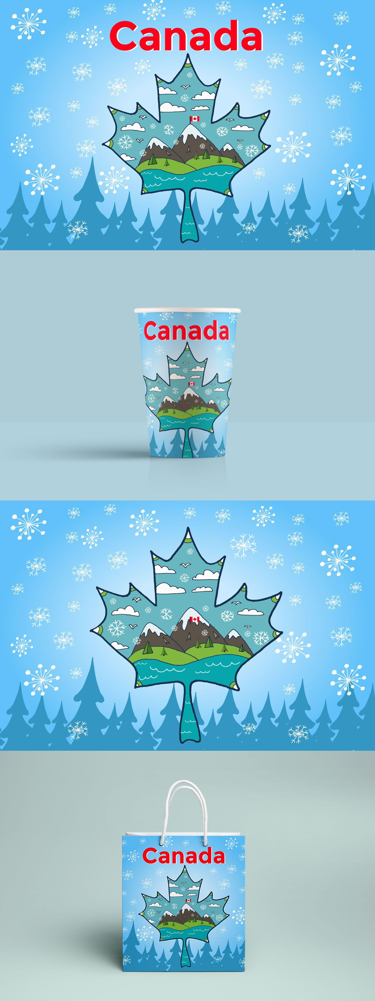 Canada free vector illustration vector