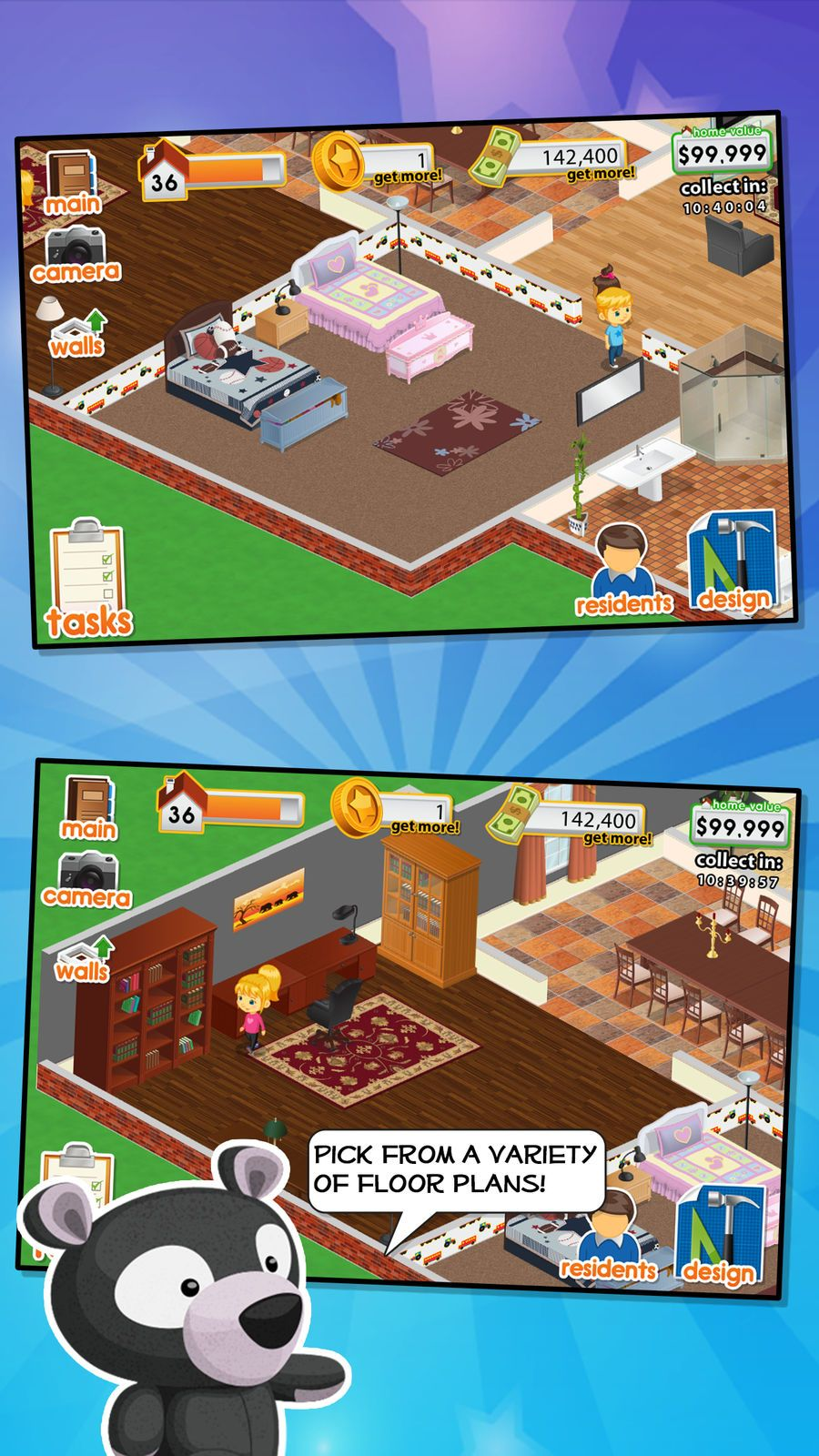Design this home familygamessimulationios house