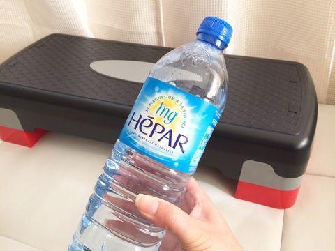「運動不足が気になって専用ステッパーで踏み台昇降をしているのですが 運動をする前と後に頂いています。 汗をかいた後は特に美味しく感じます」 by.kobukobuさま #hepar #hépar #エパー #硬水 #超硬水 #ミネラルウォーター #フィットネス #ダイエット