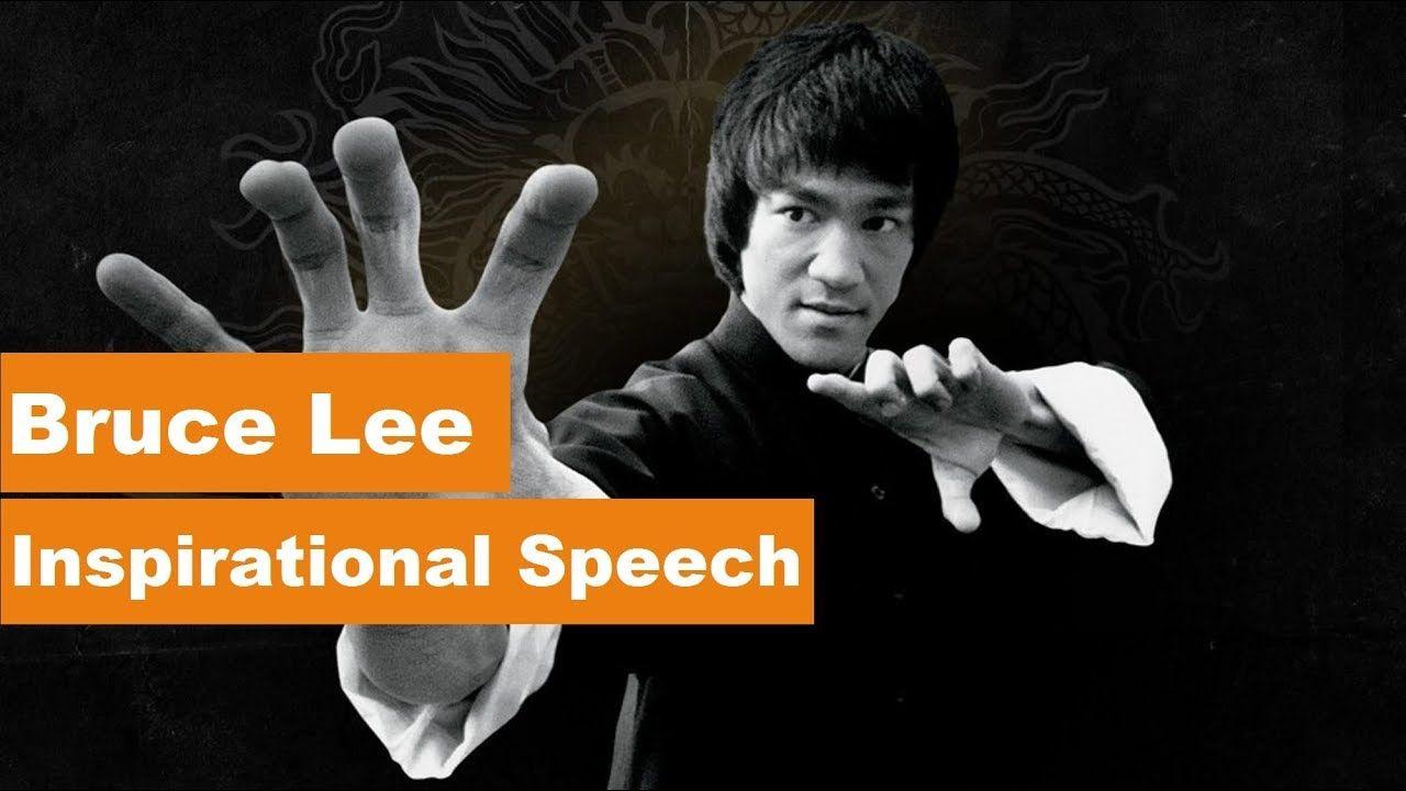 bruce lee speech