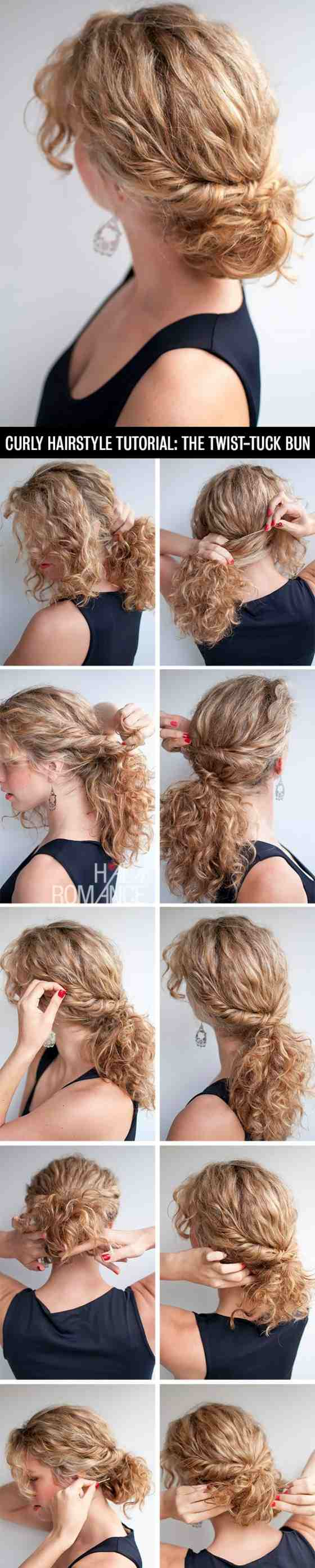 Anleitung Hochsteckfrisur Selber Machen Jpg Frisuren Bilder Hair Styles Hair Romance Curly Hair Romance