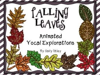 Falling Leaves Animated Vocal Explorations PowerPoints and Worksheets.   Get your students using their head voices with these fall themed animated vocal exploration slides. The PowerPoint presentation contains: 5 animated slides 5 slides for students to draw their own paths when projected on Smartboard or whiteboard 3 printable worksheets