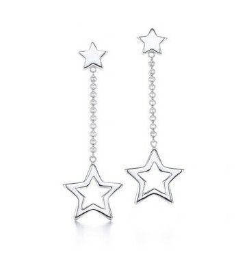 ddb83d635b Tiffany and co Earrings Pentagram | Tiffany & Co. | Tiffany earrings ...