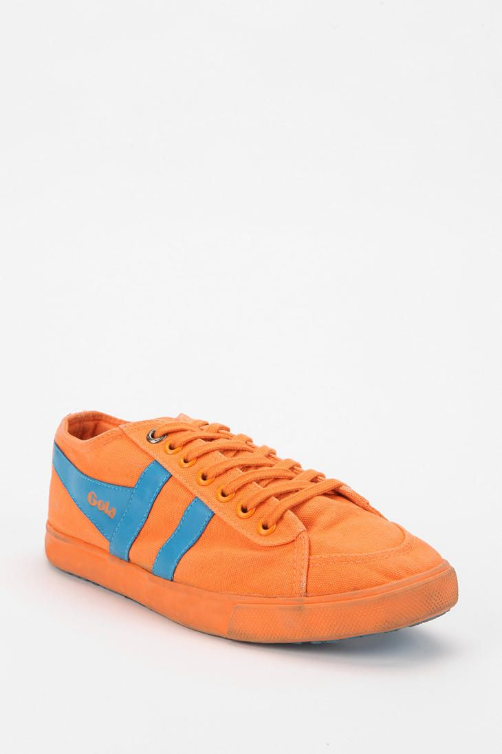 Gola Quota Neon Lace-Up Sneaker Online Only