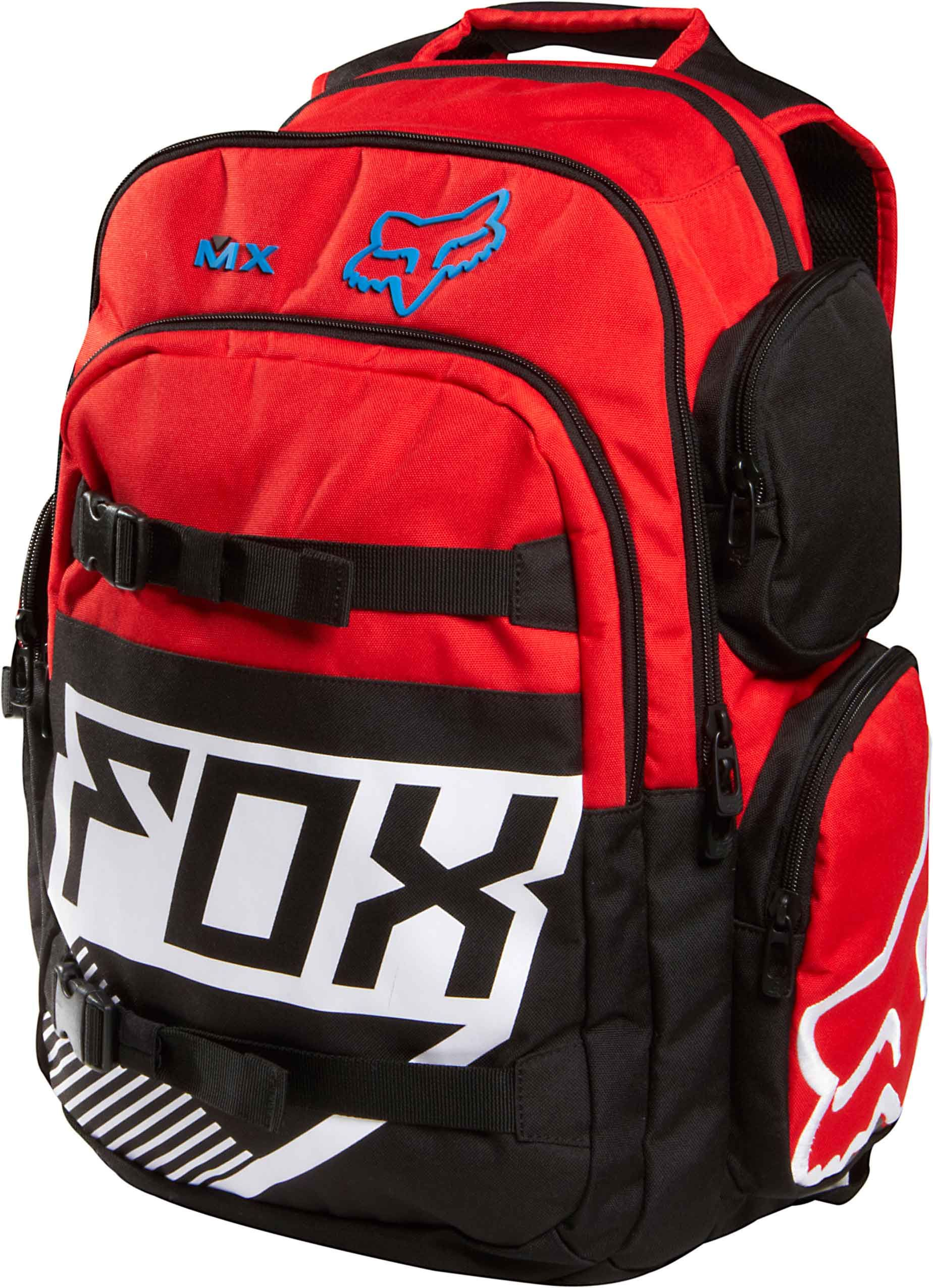 Fox Step Up 2 Backpack Red Backpacks Fox Clothing Motocross Mom