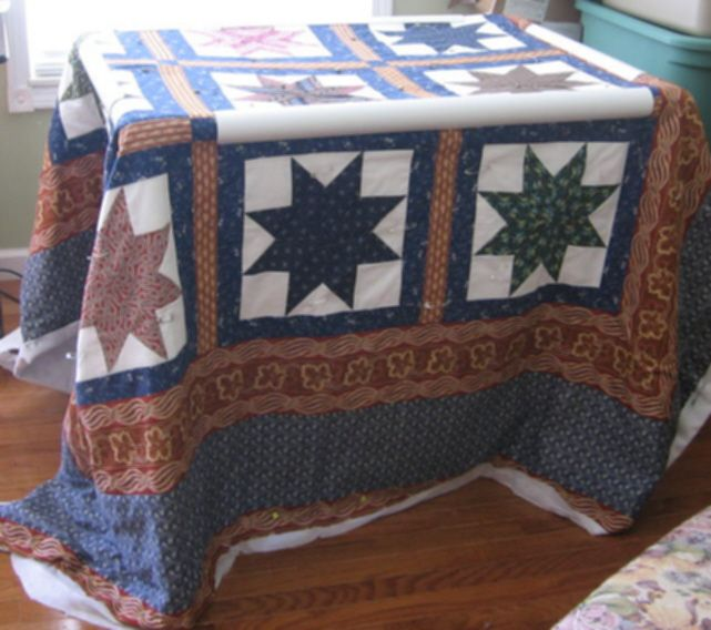 Waltz Across Texas is what I name my quilt here.  It comes from the Earl Scruggs classic Country Western song.