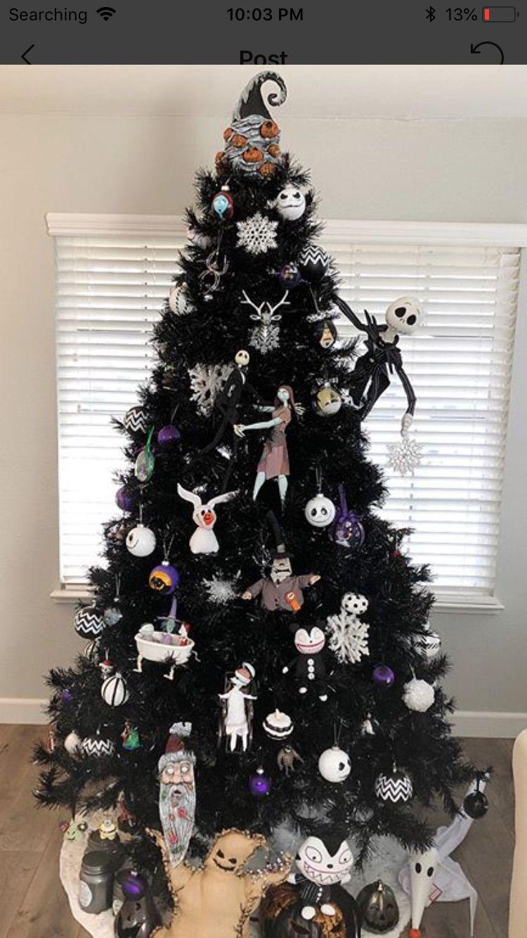 Pin By Wayne Sharron On Nightmare Before Christmas Nightmare Before Christmas Ornaments Nightmare Before Christmas Decorations Christmas Tree Themes