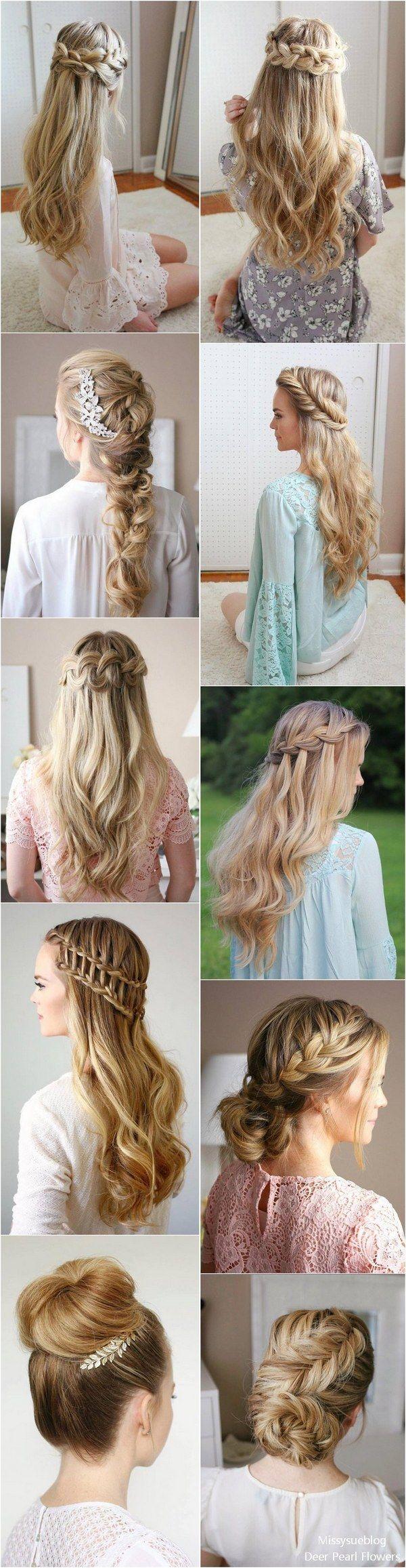 trendy long wedding u prom hairstyles to try in penteados